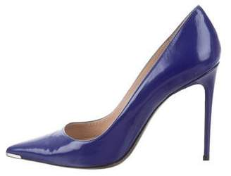Barbara Bui Pointed-Toe Leather Pumps