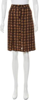Michael Kors Silk Pleated Skirt w/ Tags