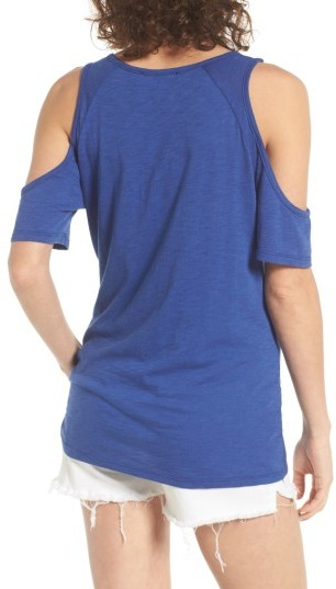 Women's Bp. Twist Front Cold Shoulder Tee 3