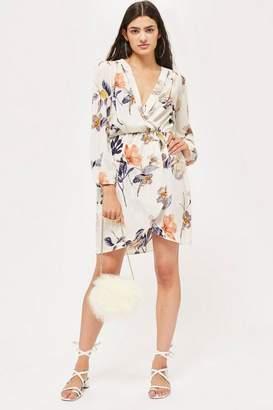 Love Womens **Long Sleeve Wrap Dress