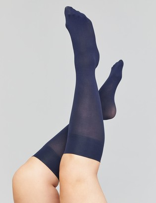 Lane Bryant Solid Trouser Socks 2-Pack