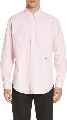 Calvin Klein Long Sleeve Poplin Shirt
