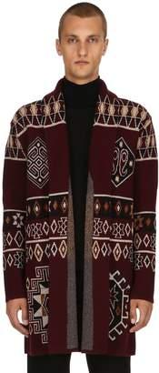 Etro Carpet Ride Wool Jacquard Coat