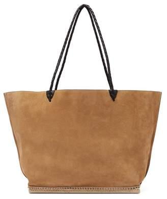 Altuzarra Espadrille Large Suede Tote Bag - Womens - Tan