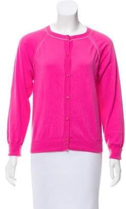 Nina Ricci Contrasted Button-Up Cardigan