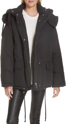 Helmut Lang (ヘルムート ラング) - Helmut Lang Removable Hood Puffer Jacket