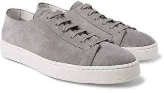 Santoni Suede Sneakers - Men - Gray