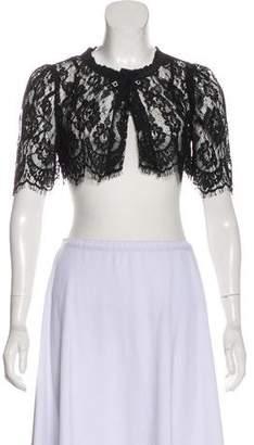 Dolce & Gabbana Lace Short Sleeve Bolero