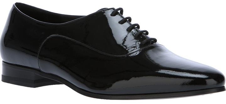 Saint Laurent 'Lulu Richelieu' lace up shoe