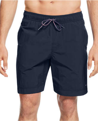 "Tommy Hilfiger Men's Tommy 7.5"" Swim Trunks, Created for Macy's"