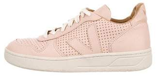 Veja Leather Low Top Sneakers
