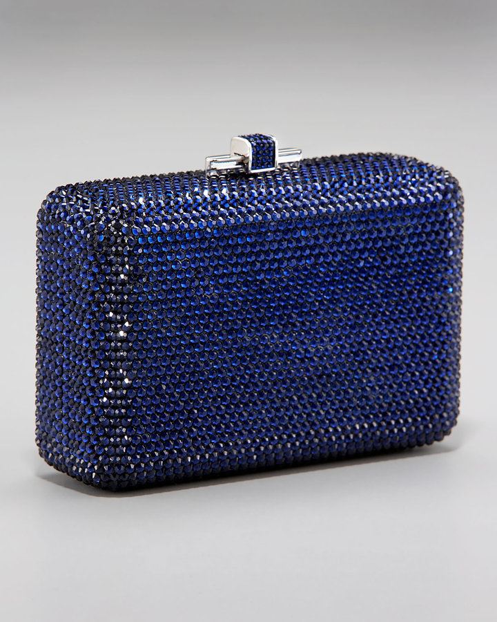 Judith Leiber Crystal Air Stream Clutch