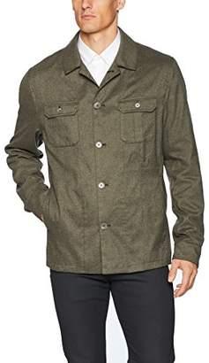Calvin Klein Men's Slim FIT Military Shirt Jacket