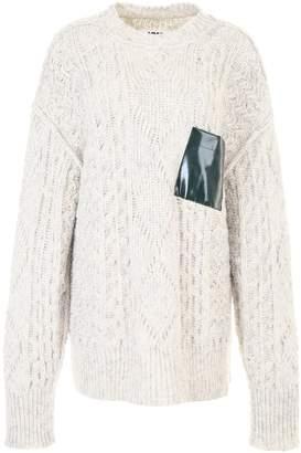 MM6 MAISON MARGIELA Knit Dress With Pocket Detail