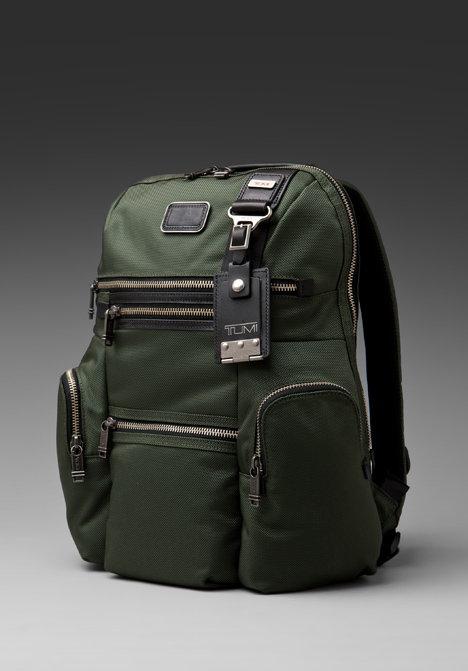 Tumi Alpha Bravo Ballistic Nylon Knox Backpack