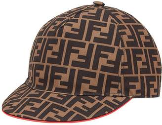 Fendi FF logo baseball cap