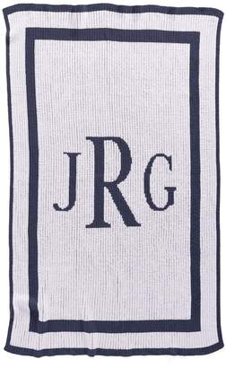 Butterscotch Blankees 'Classic Monogram' Personalized Crib Blanket