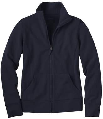 L.L. Bean L.L.Bean Women's Ultrasoft Sweats, Full-Zip Mock-Neck Jacket