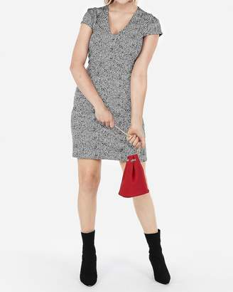 Express Seamed Sheath Dress