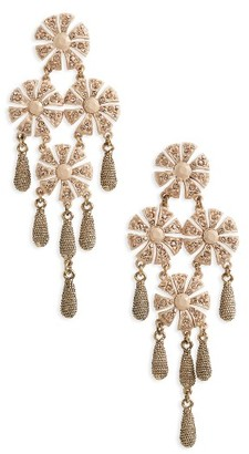 Women's Loren Hope Jasmine Chandelier Earrings $248 thestylecure.com