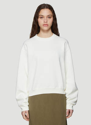 Our Legacy First Sweatshirt in Cream