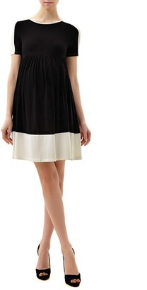 Women's Kimi And Kai 'Amelia' Colorblock Maternity Skater Dress $88 thestylecure.com