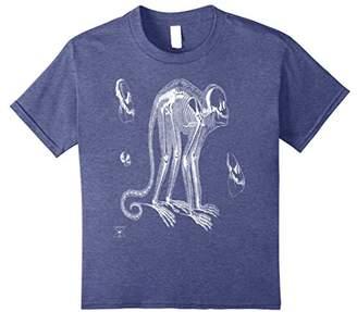 Monkey T-Shirt | Primate Animal Skeleton Anatomy