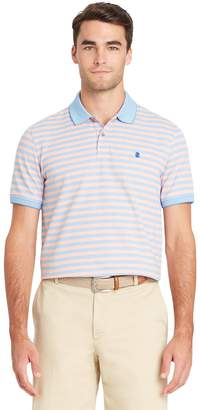 Izod Men's SportFlex Classic-Fit Feeder-Striped Stretch Performance Polo