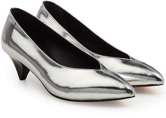 Isabel Marant Metallic Leather Pumps