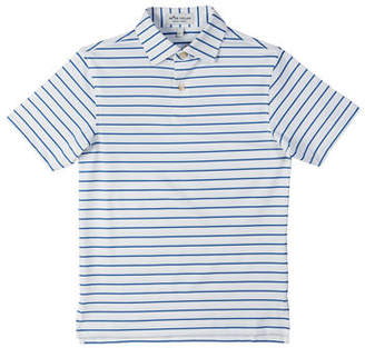 ba94311f8 Peter Millar Stretch Jersey Market Stripe Polo, Size XS-XL
