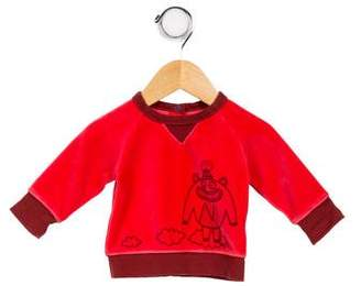 Little Marc Jacobs Girls' Graphic Print Sweater
