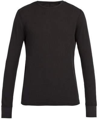 Rag & Bone Crew Neck Cotton Sweatshirt - Mens - Black