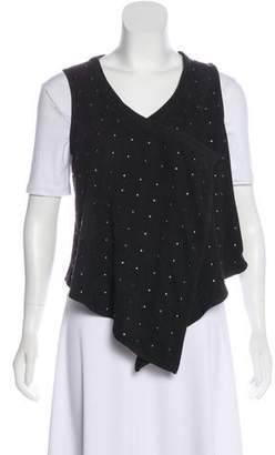 Joie Studded Suede Vest