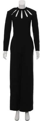 Valentino Long Sleeve Jumpsuit