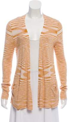 Missoni Cashmere Pattern Knit Cardigan