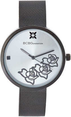 BCBGeneration GN50613001 Black & Silver-Tone Watch