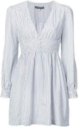 ALEXACHUNG Alexa Chung striped mini dress
