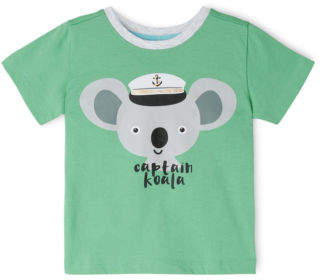 Sprout NEW Boys Essential T/Shirt TBS19000-CW16. Green