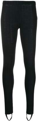 Helmut Lang ribbed leggings