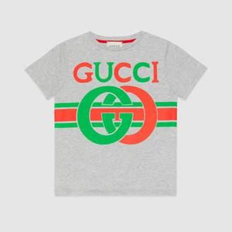 Gucci Children's T-shirt with InterlockingG