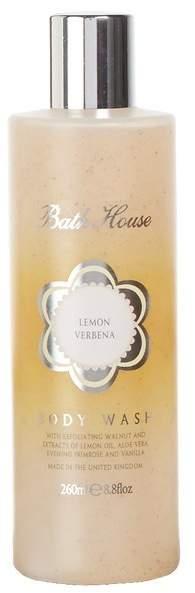 Bath House Lemon Verbena Body Wash by 260ml Shower Gel)