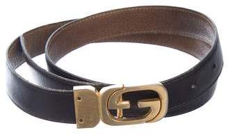 Gucci Interlocking G Leather Belt