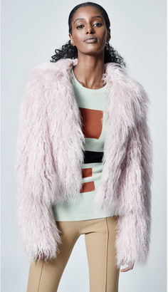 Singer22 FAUX SHEARLING CHUBBY JACKET