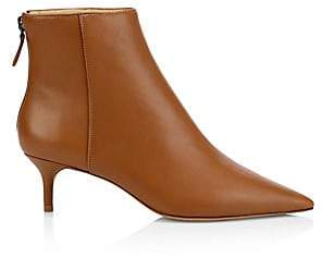 Alexandre Birman Women's Kittie Leather Ankle Boots