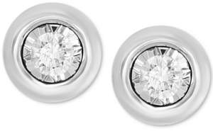 Effy Bubbles by Diamond Bezel Frame Stud Earrings (1/5 ct. t.w.)