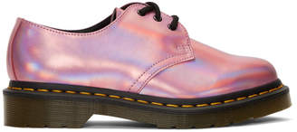 Dr. Martens Pink Iced Metallic 1461 Derbys