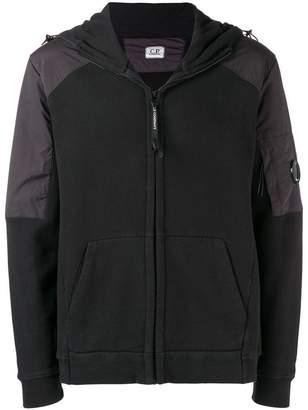 C.P. Company lense detail zip-up hoodie