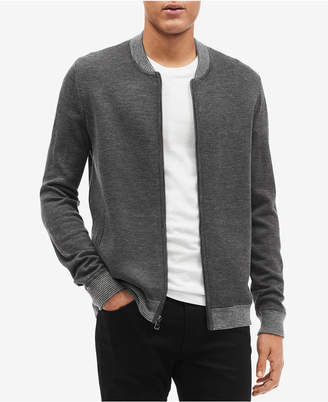 Calvin Klein Men's Milano Full-Zip Sweater