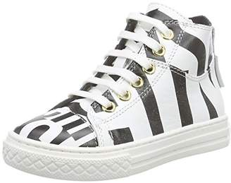 Moschino Girls' 25712 High-top Trainers White Size: