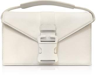 Christopher Kane White Grained Leather Devine Og Bag